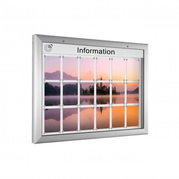 InfoSelect® SOFTLINE-SCHAUKASTEN 18 x DIN A4